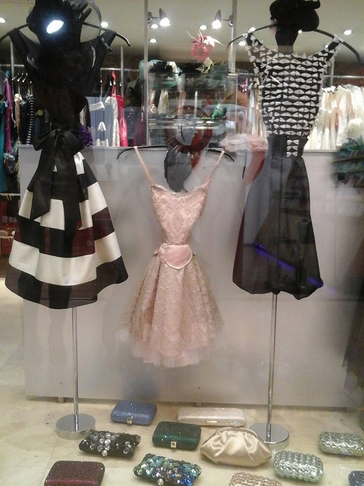 Vestidos de fiesta bulevard rosa